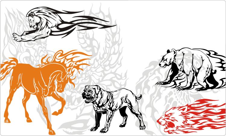 Animal Flames