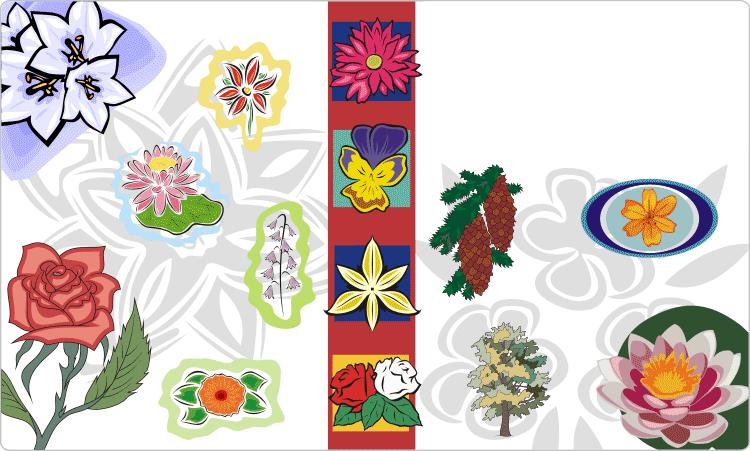 Flowers & Floral Art Designs