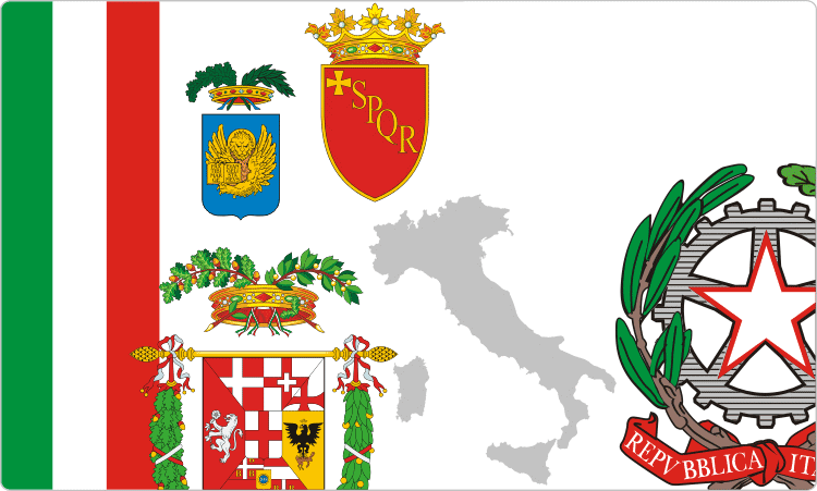 Heraldry of Italy / Italian Flags & Coats of Arms