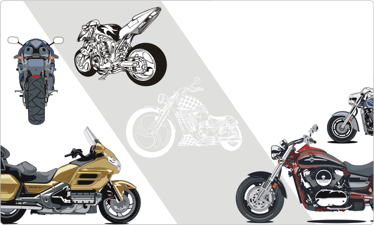 Motorcycles Clipart