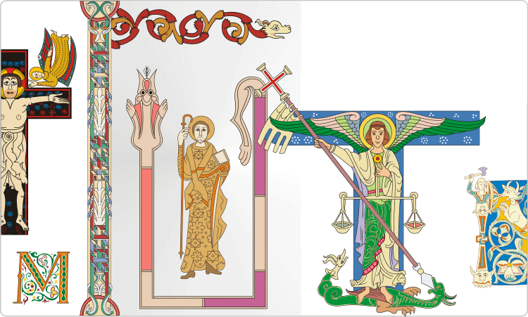 Old Manuscript Illustrations
