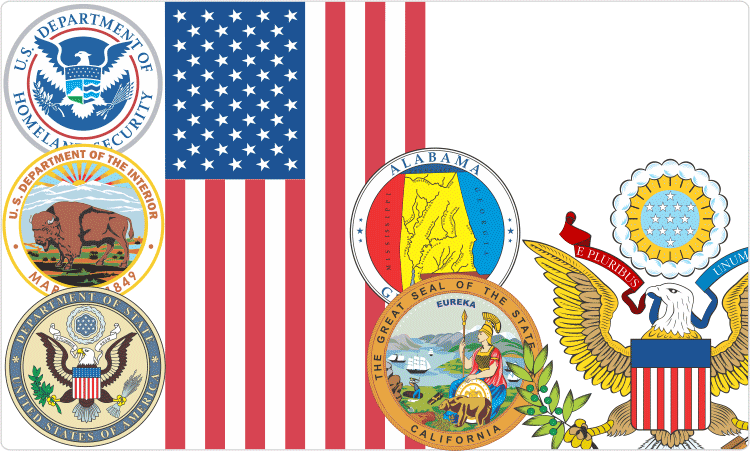 U.S. Flags and Seals