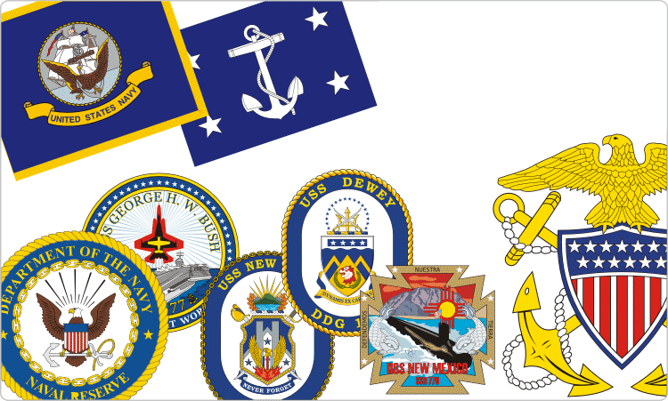 U.S. Navy Insignia & Ship Crests